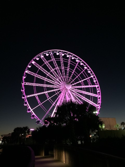 Colorful Myrtle Beach Sky Wheel