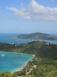 Nice view of St Thomas in the US Virgin ISlands